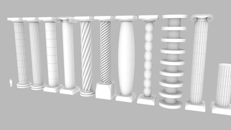 Composant dynamique : colonne a cannelures - Page 3 Colonn14