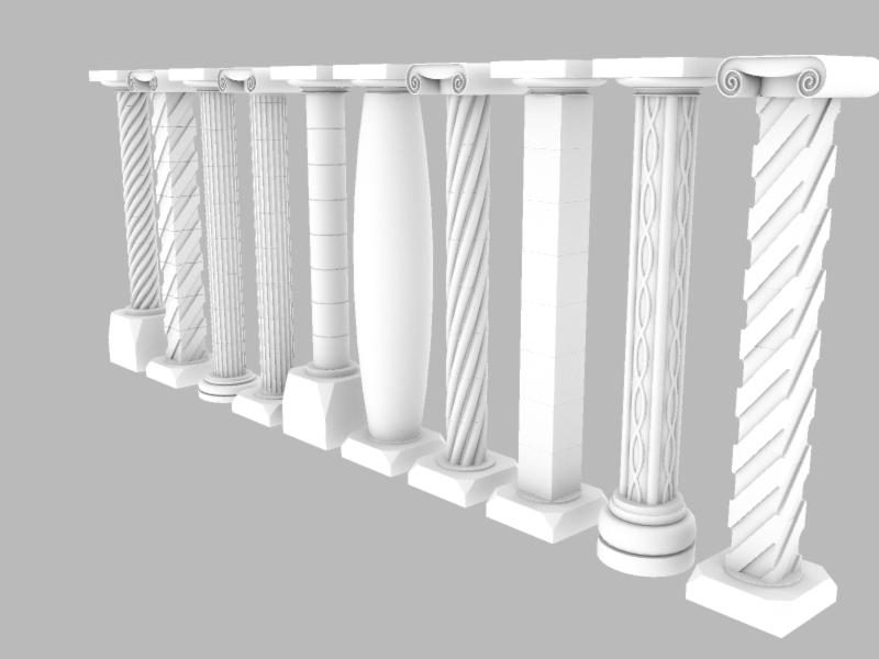 Composant dynamique : colonne a cannelures - Page 3 Colonn15