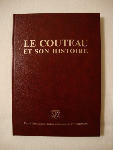 """Livre """"Le Couteau"""" de VICTORINOX Dsc01512"""
