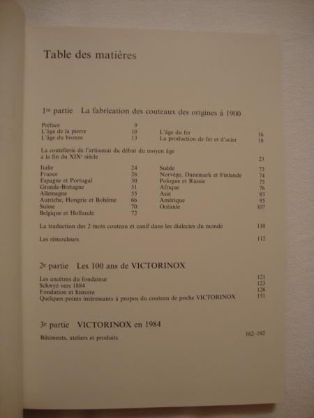 """Livre """"Le Couteau"""" de VICTORINOX Dsc01514"""