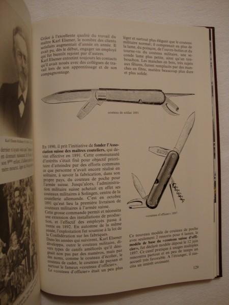 """Livre """"Le Couteau"""" de VICTORINOX Dsc01518"""