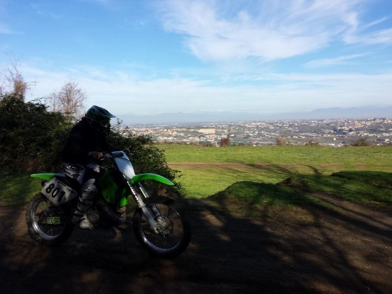 Uscita Enduro e Prove Motocross! Pianura - Pozzuoli 20140210