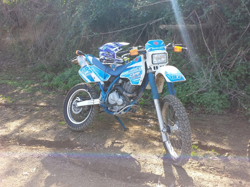 Uscita Enduro e Prove Motocross! Pianura - Pozzuoli 20140212