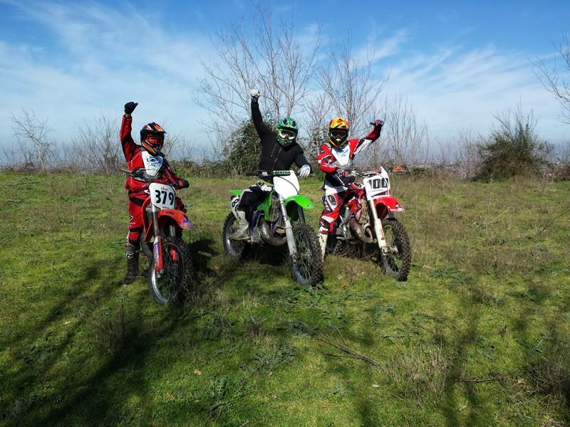 Uscita Enduro e Prove Motocross! Pianura - Pozzuoli 20140214