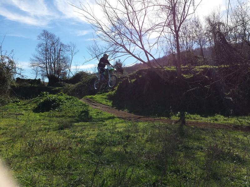 Uscita Enduro e Prove Motocross! Pianura - Pozzuoli 20140215