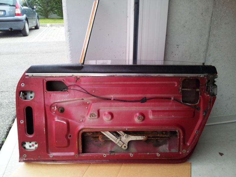 [VENDO] Coppia di portiere in alluminio - TREVISO 20140112