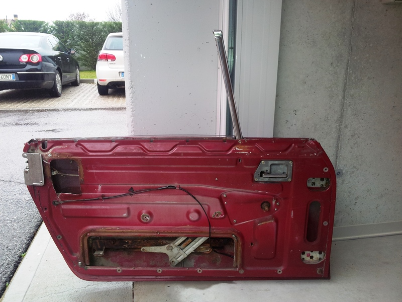 [VENDO] Coppia di portiere in alluminio - TREVISO 20140210