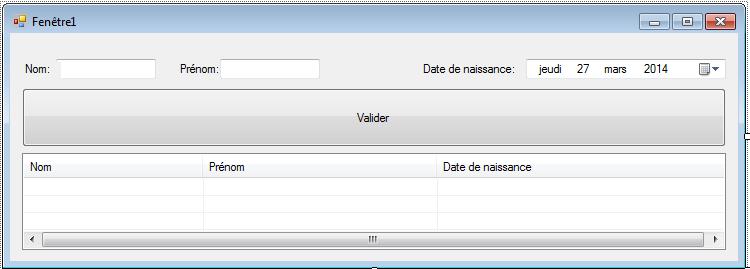 Insertion de données textbox dans un tableau Tablea10