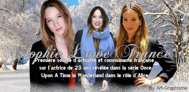 Sophie Lowe France