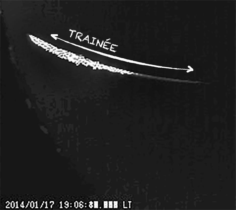 Un étrange phénomène observé dans le ciel de Côte-d'Or Metore11