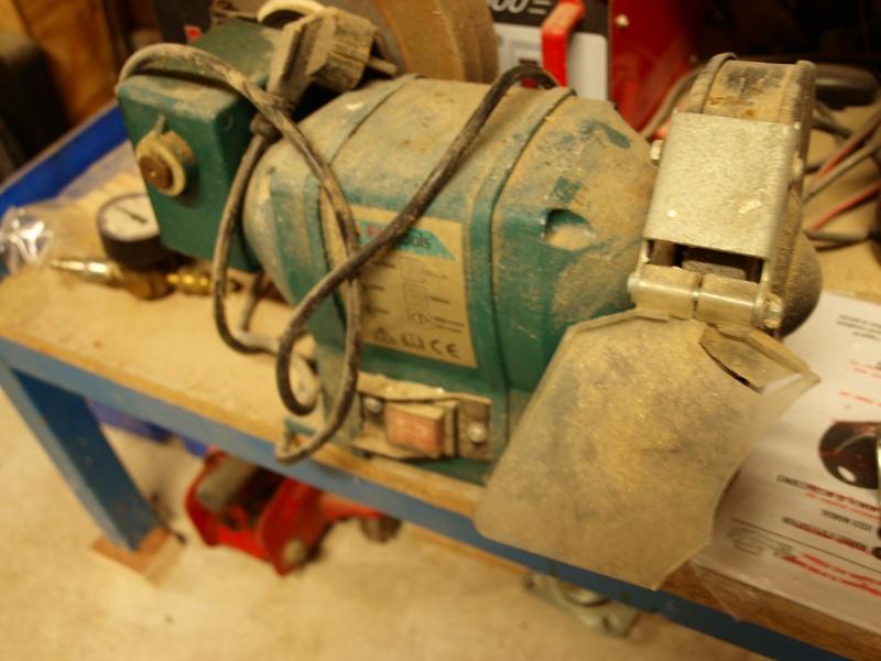 fabrication d'une ponceuse a disque P1010317
