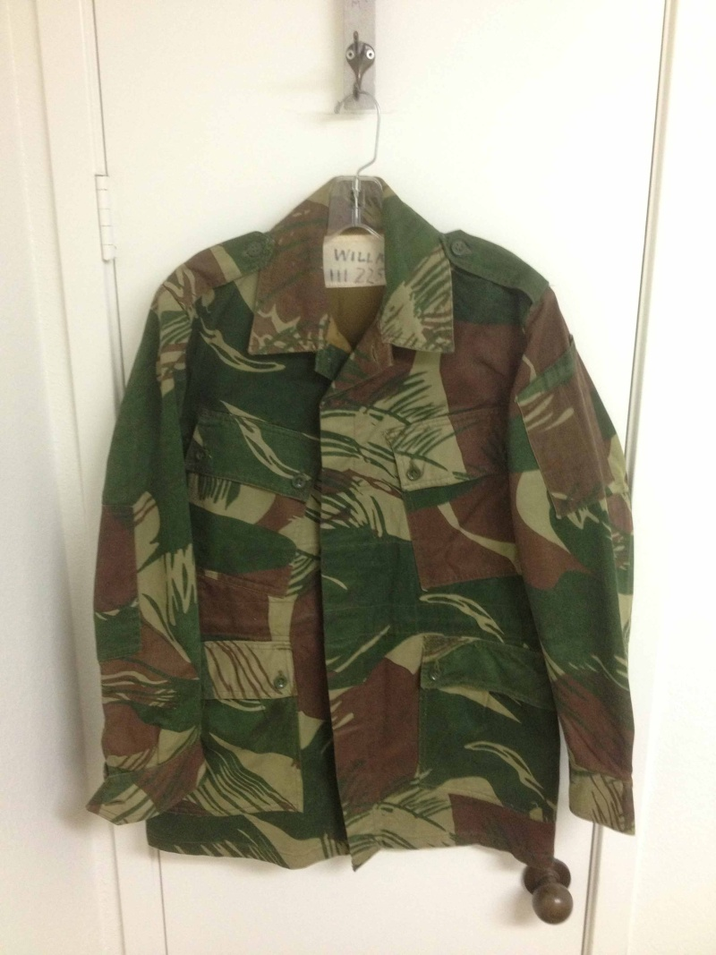 My Rhodesian Stuff - Bush jacket and unusual bush shirt Real10