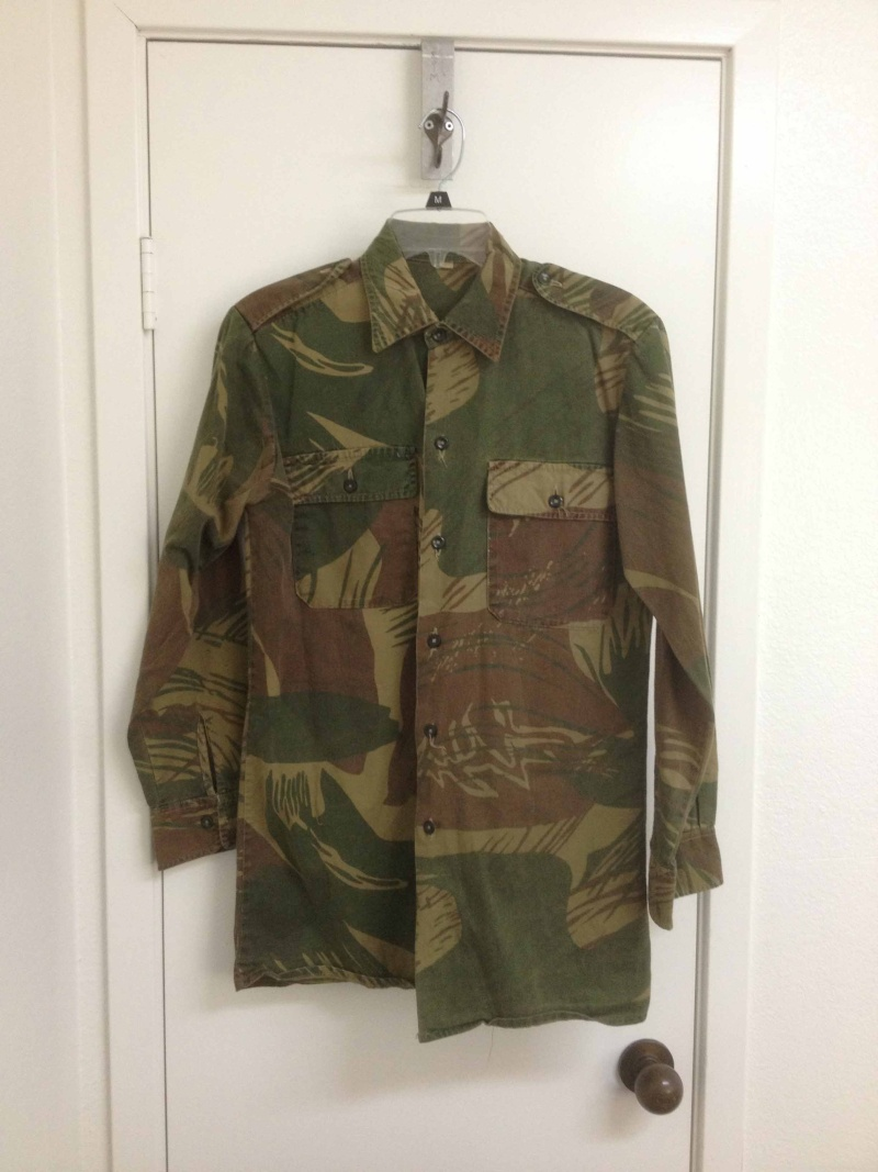 My Rhodesian Stuff - Bush jacket and unusual bush shirt Rhodes10