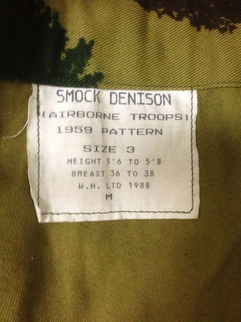 1959 Denison Smock Repro from W.H. Limited Tag11