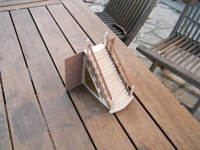 Le Marieville mississipi boat au 1/50° sur plan  Dscf1613
