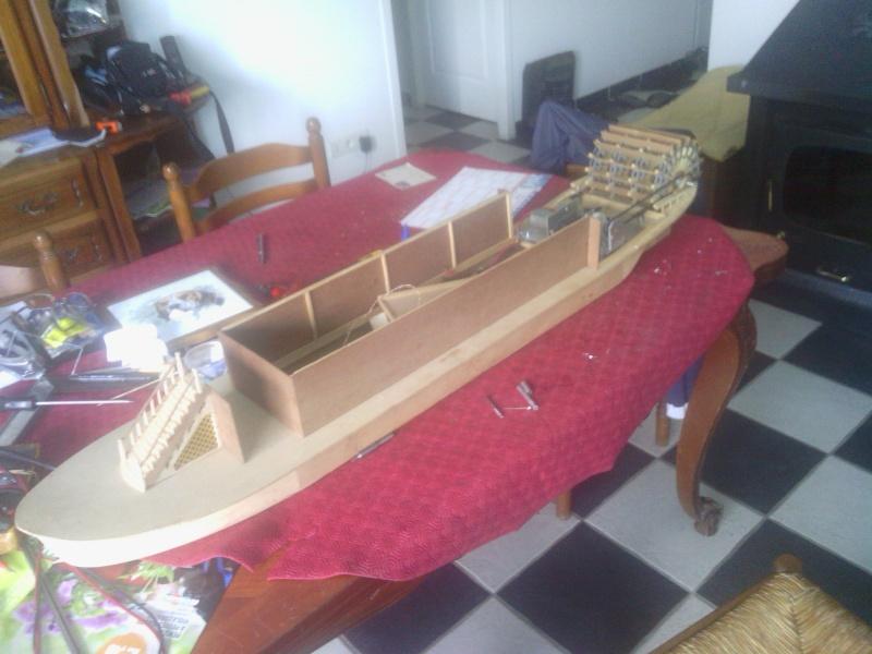 Le Marieville mississipi boat au 1/50° sur plan  Img_2023