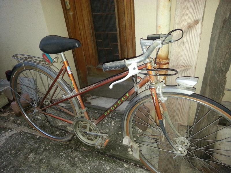 vélo de ville femme Peugeot 20131014