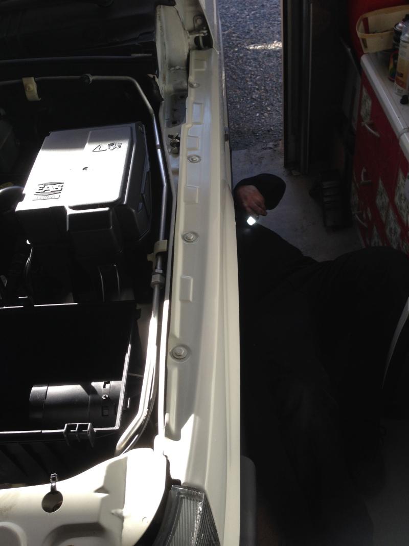 Gros nettoyage avant greffe du moteur Fabric10