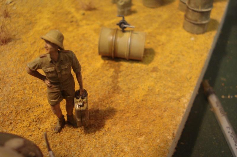 diorama - diorama afrika corps Dsc07727