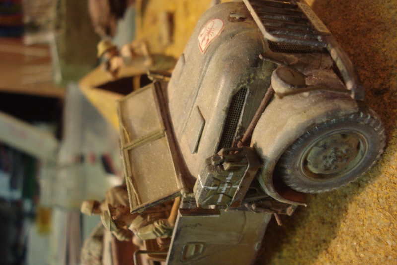 diorama - diorama afrika corps Dsc07729