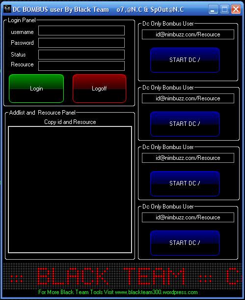 best DC Bombus User By Black Team Dc10