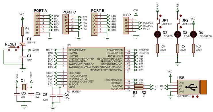 الترقى فى العمل مع الميكروكونترولر من السلسلة  PIC16F  إلى السلسلة PIC18F : 513