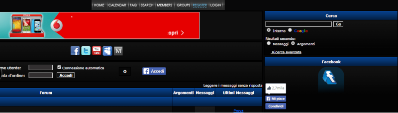 Risolto - Problema con tutti gli script di Facebook Immagi24