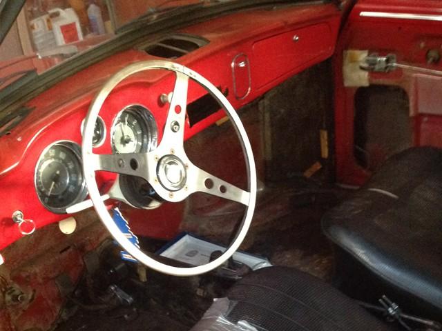 Karmann Ghia 64 Ruby Red 210