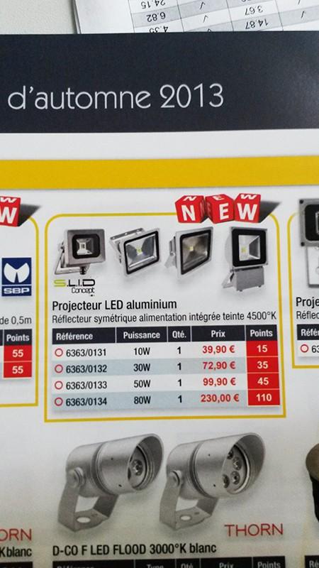 projecteur LED SLID concept/CGED 20140345
