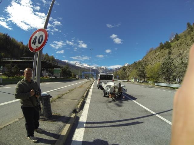 Compte rendu de notre cession en Italie Gopr0112