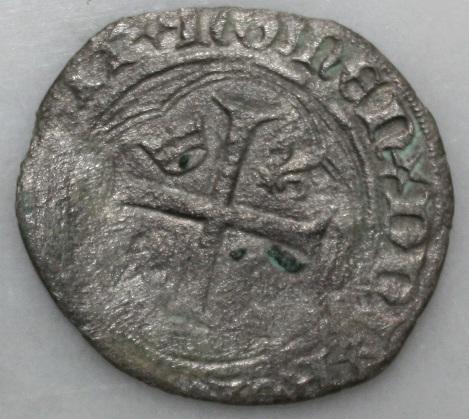 Blanc à la couronne (aux couronnelles) de Charles VII Dritto15