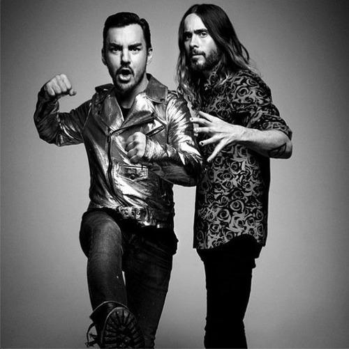 Jared & Shannon Leto - FourTwoNine mag - avril 2014 Damon_10