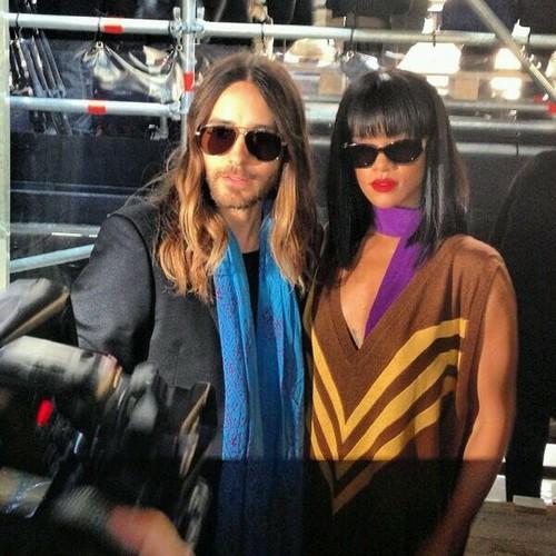 Jared Leto @ Fashion Week - Paris Tumblr13