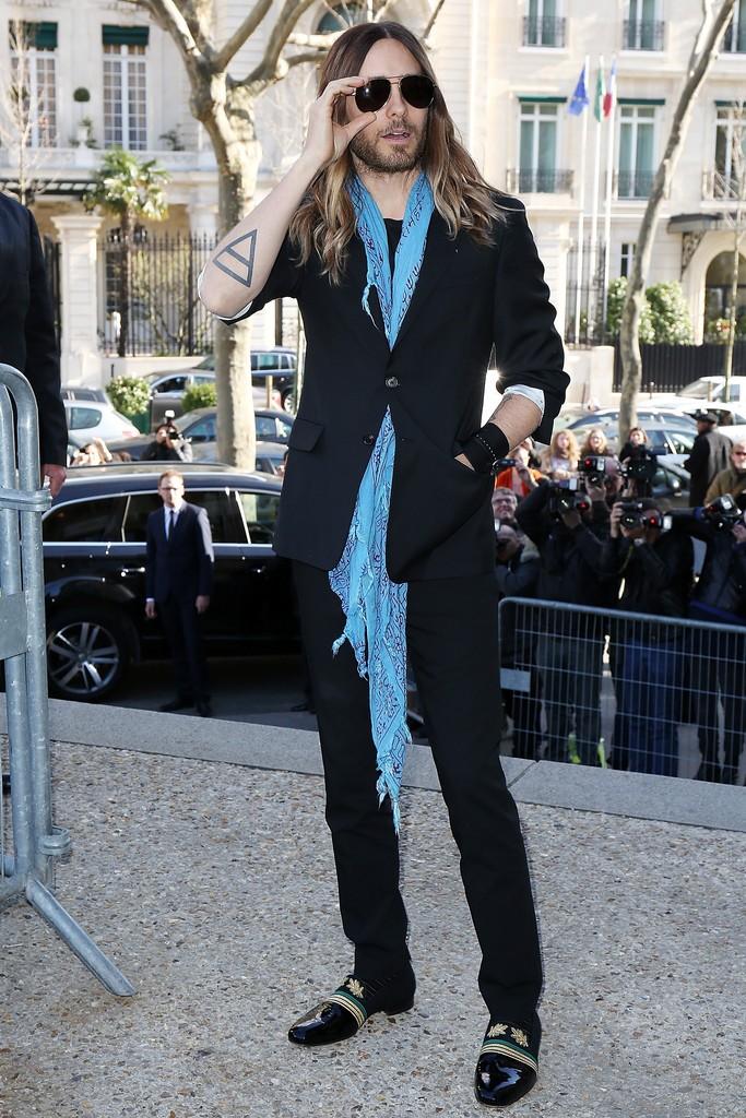 Jared Leto @ Fashion Week - Paris Tumblr14