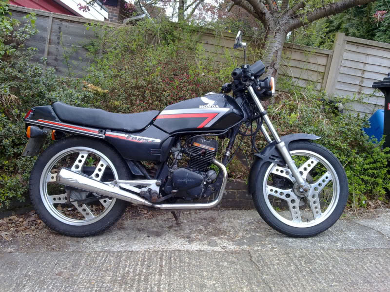 "Honda CB125T ""superdream"" 12510"