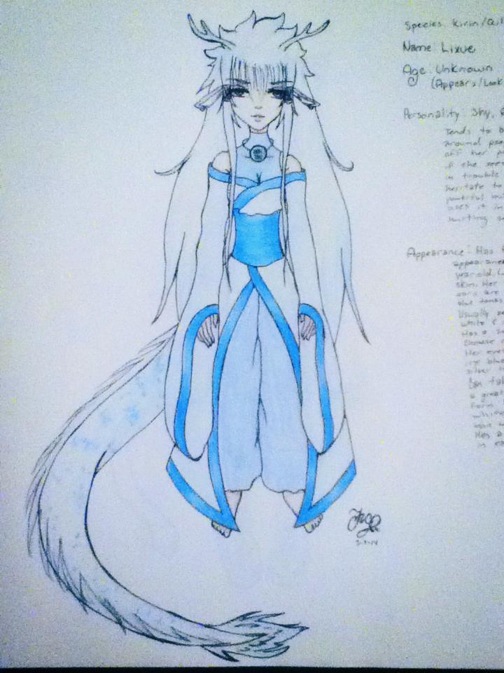 Li Xue the Kirin/Qilin Lixue10