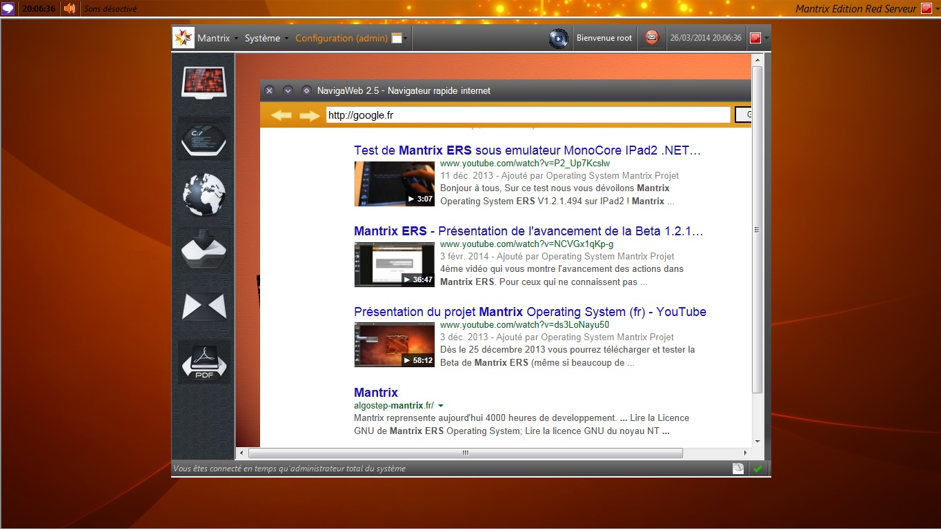 Mantrix Edition Red Serveur - Operating System Projet - Page 37 Iugtes15
