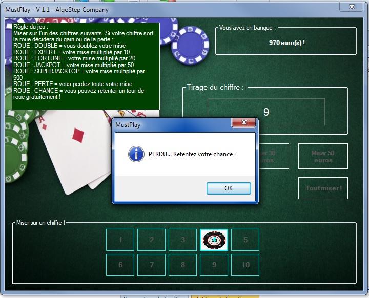 MustPlay - Jeu de casino double chance Mustpl10