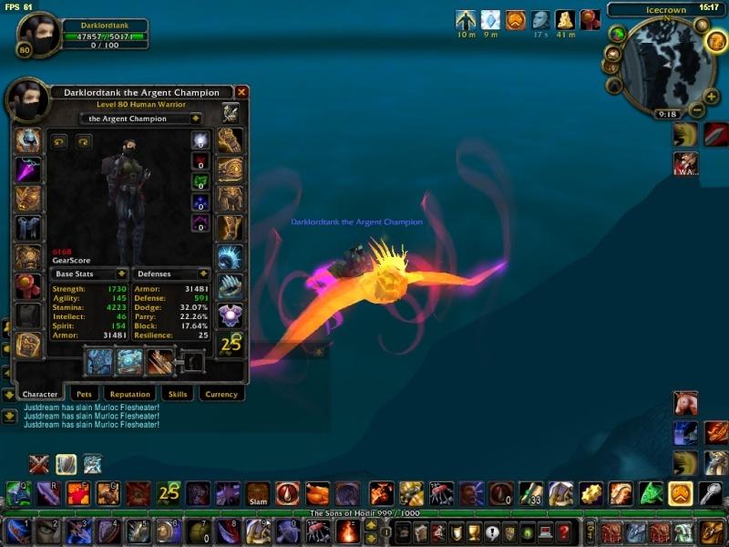Phoenix riding a ... phoenix! Wotlkb10