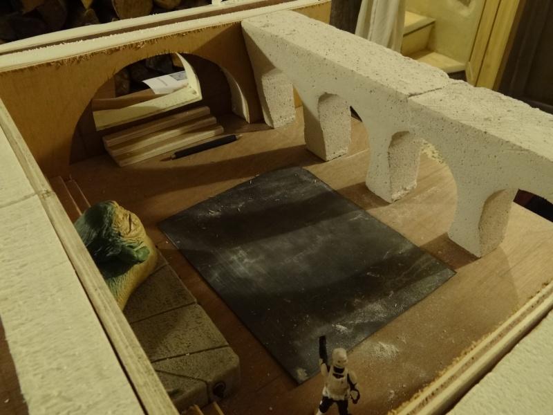 Palais de Jabba maquette  Dsc05012