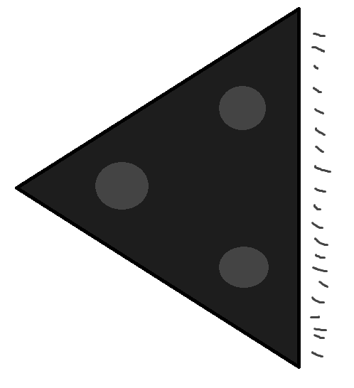 : leX /été 1994 ou 95 à 21h15 - Ovni triangulaire volant - Pertuis - Vaucluse (dép.84) Objet10