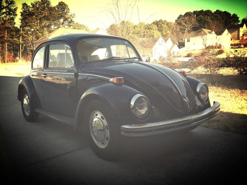 Meet Rory....the 1970 Beetle from GA Rory11