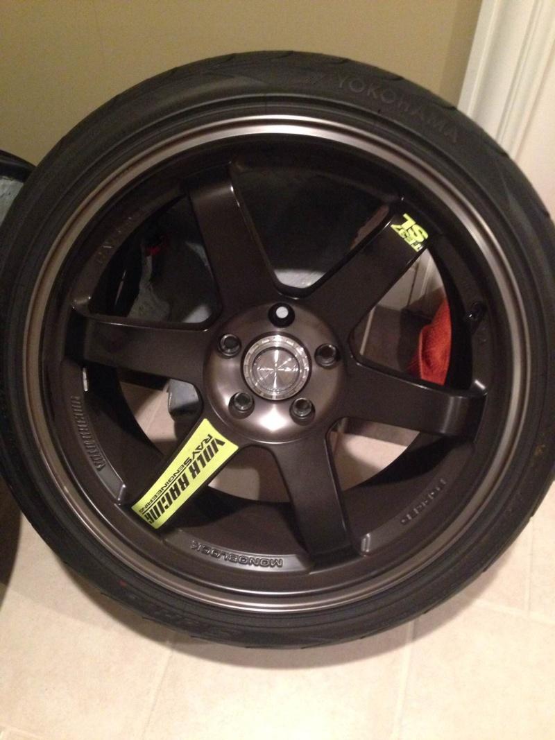 FS: Volk TE37SL Black Edition Te3711