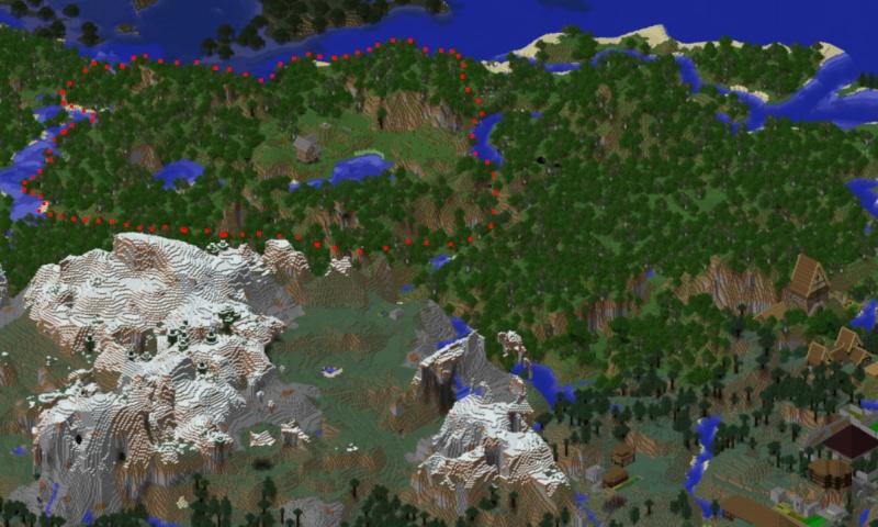 Projet de Village Communautaire Map12
