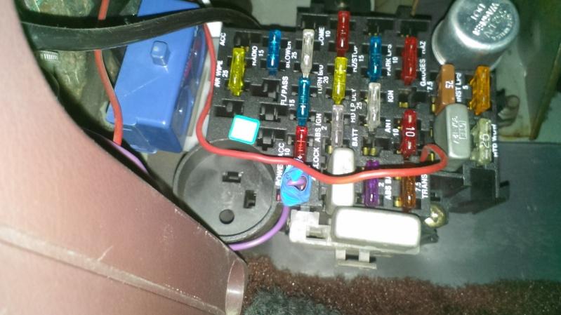 branchement vitre electrique en direct Imag0023