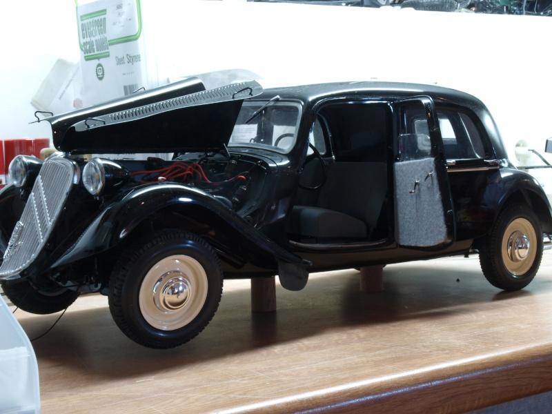 La Citroën Traction 15cv au 1/8ème P1012510