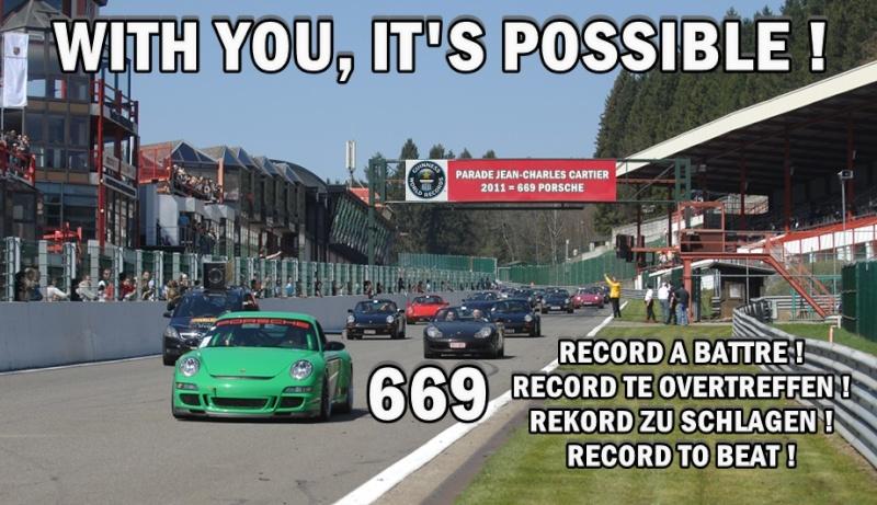 Porsche Francorchamps Days 2014 : 9, 10 & 11 mai - Page 3 Parade10