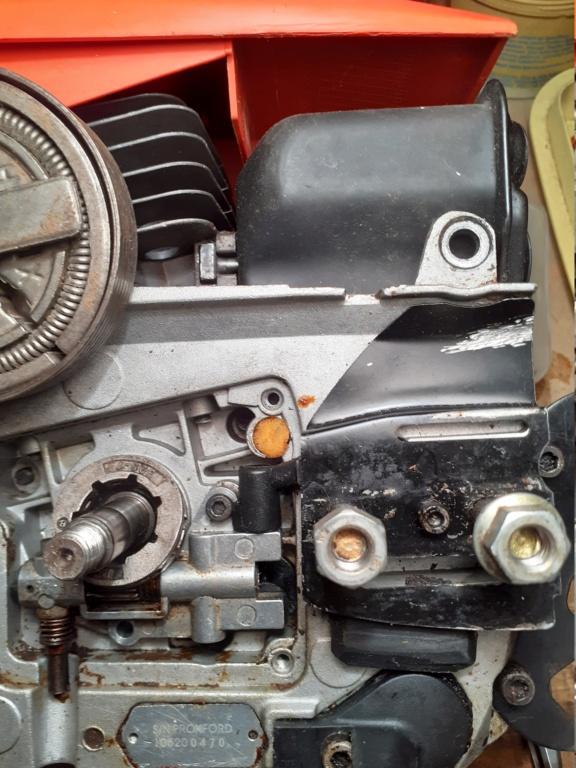Greencut gs 7500 Motosega gira il motore ma non la lama 20210614
