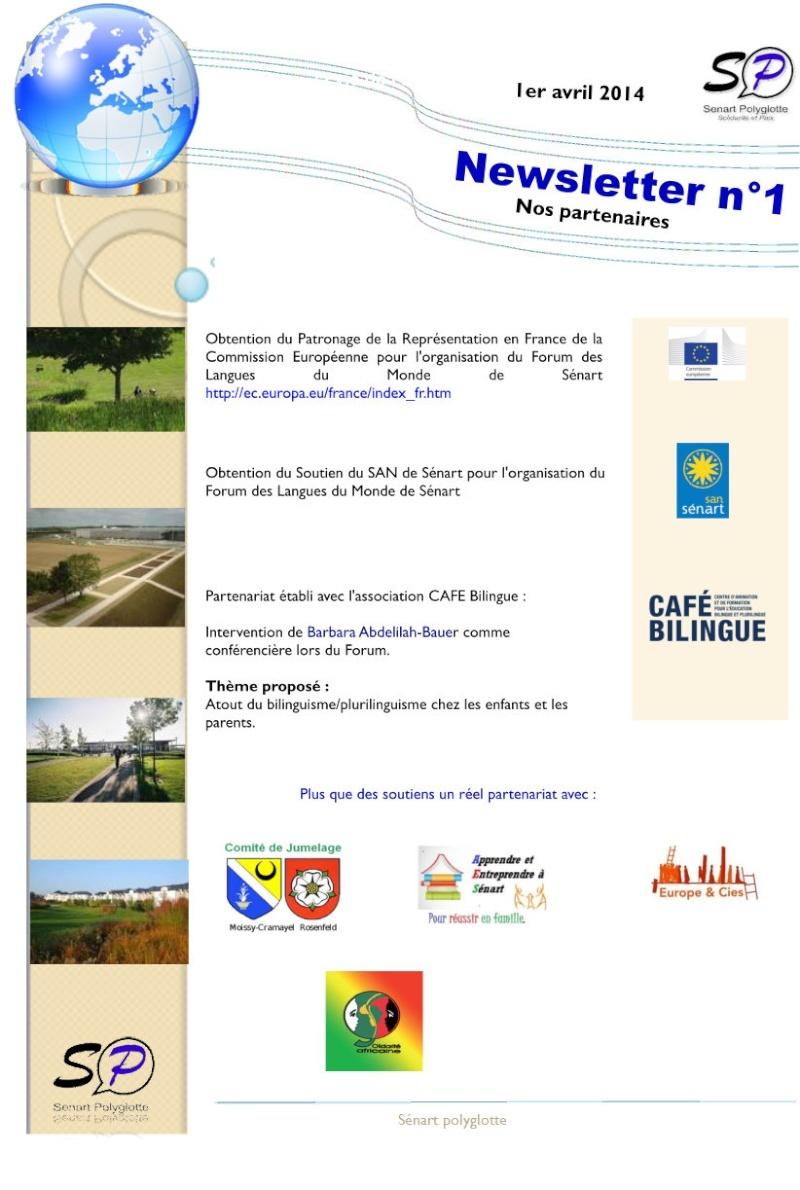 1ère Newsletter de Sénart Polyglotte - Avril 2014 Newsle15