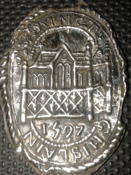 Médaille de St-Ghislain - trouvée en Belgique - XVIIème 003_1610